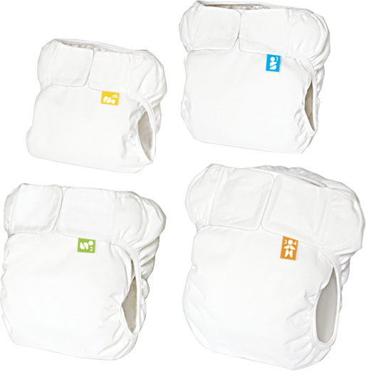 Mabu Baby Eco-Diaper All Four Sizes ST